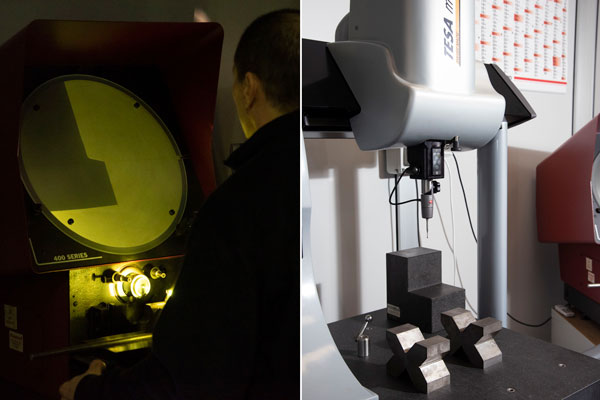 Proiettore e misuratore a 3D